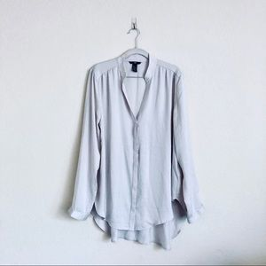 NWOT Gray H&M Blouse